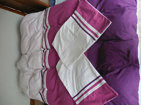 Double duvet cover with pillow case !