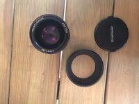 Voigtländer Voigtlander Nokton 25mm f0.95 MF Lens Micro Four Thirds