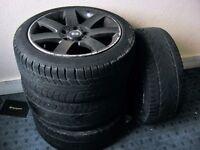 """BMW 17"""" alloys whels set"""