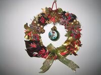 Beautiful Hand Crafted Christmas Wreath