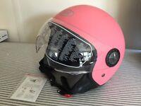 New BHR ladies helmet size s 55-56 pink