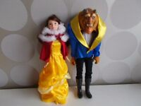DISNEY BEAUTY AND THE BEAST BELLE AND ADAM