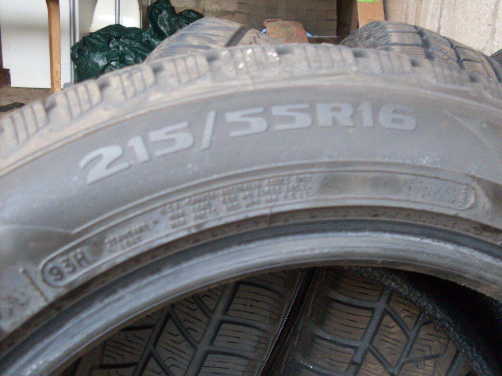 Avon Winter Tyres Ice Touring St 215/55/16