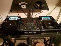 Pioneer xdj 1000 mk2 and Allen & Heath Xone 92 Dj setup
