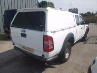 truck top ford ranger super cab or mazda white