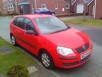 2008 VOLKSWAGEN POLO 1.2, LOW MILES AT ONLY 59K, LONG MOT UNTIL 9/1/18 AND A GREAT SERVICE HISTORY!