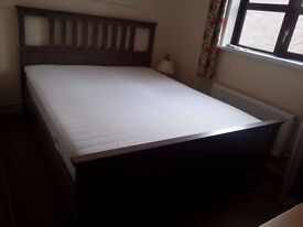 As new - King Size bed - must go by Thursday!