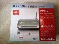 Belkin Wireless G Modem Router