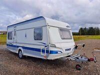 Fendt Platinum 4 Berth Caravan
