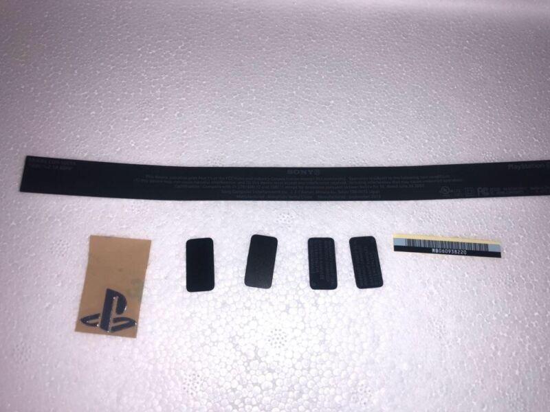 Playstation 4 CUH-1000 Warranty Seal Stickers Black 7-Pieces