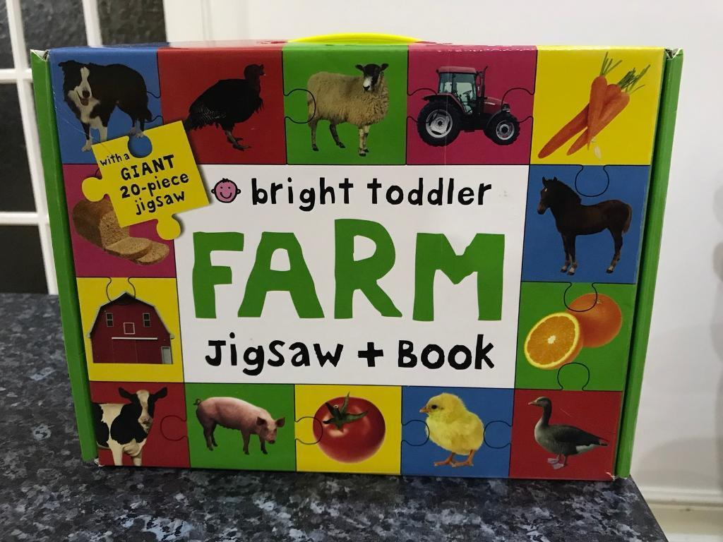 Giant 20-piece Farm Jigsaw
