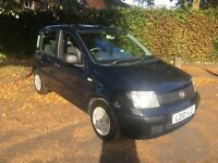 Fiat Panda 1.1 Eco Active ECO 5dr 2010 Blue / Black