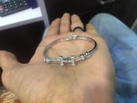 H - 925 sterling Silver BRACELET for Women