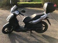 kymco agility city 125cc scooter MOT till November 2018