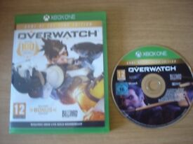 X BOX ONE GAME - OVERWATCH - Game of the Year Edition