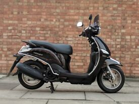 Yamaha Delight 115cc (65 REG), Excellent condition with only 2051 miles! One owner from new