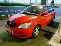 Toyota Corolla D4D diesel 9 stamps in book year mot suoerb drive £950 astra polo corsa