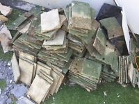 Over 100 roof tiles - 25p each!