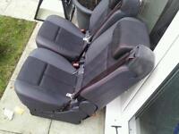 2 Renault espace seats.