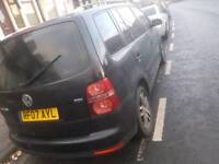 Vw touran 2007 1.9 tdi damaged