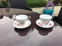 Grandmother / Mother tea set/ cup and saucer / tea party / china / ceramic