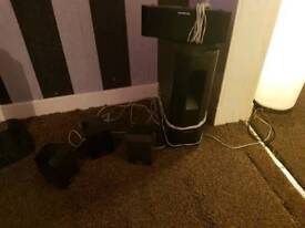 Panasonic surround sound speakers