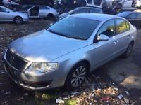 Vw Passat Saloon (2005 - 2011) B6 2.0 TDI BlueMotion silver(la7w) indicator breaking