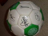 Signed Celtic Football