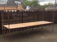 Market stall for sale ideal for car boot sale etc