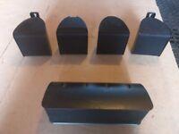 Pioneer speakers with ONKYO Amplifier
