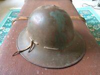 World War Two Antique Vintage Retro Military Helmet – Zuckerman/Civilian Protective Helmet c.1941