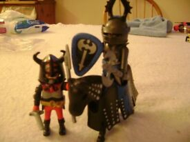 Two Playmobil Knights