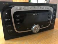 Sony Original Double Din Stereo CD