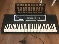 Yamaha YPT 210 Electronic Piano Keyboard with Sheet Music Holder 61 Keys