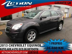 2013 CHEVROLET EQUINOX FWD LS LS,AUTO,AIR,4 CYL ECO,BLUETOOTH