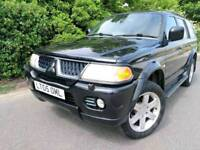 2005 SHOGUN WARRIOR V6 LPG AUTO *87,000* GAS* LEATHER* SPORT MITSUBISHI GAS L200 ANIMAL automatic