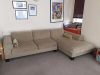 Large L-Shaped Sofa / Couch