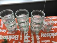 Mini Mason Glass Jars - 16 quantity