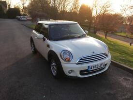 2013 Mini Hatch Cooper 1.6 Petrol (start/stop)(chili pack)*Full Dealer Service History*New MOT*
