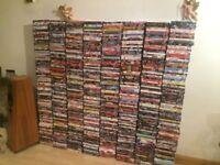 Huge Job lot of 800 DVDs sci fi horror thriller action Comedy - Bargain £100