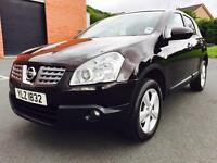 OCTOBER 2009 NISSAN QASHQAI ACENTA 1.5 DCI ONLY 75,000 MILES FULL SERVICE HISTORY