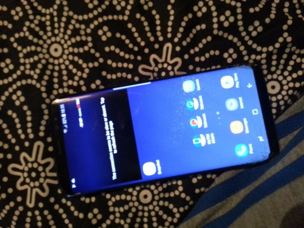 samsung s8 swap for xbox one or ps4 see photos for condition off phone .