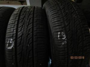 195/60R15 3 ONLY USED HANKOOK A/S TIRES