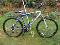Mens/Boys Mountain Bike 26in Wheel 19in Frame 18 Gears Front Suspension