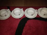 Rombouts cups and saucers