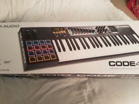 M-Audio Code 49 Midi Keyboard