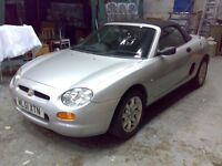 MGF convertable 2001 12mths MOT Great condition & working order 59k miles