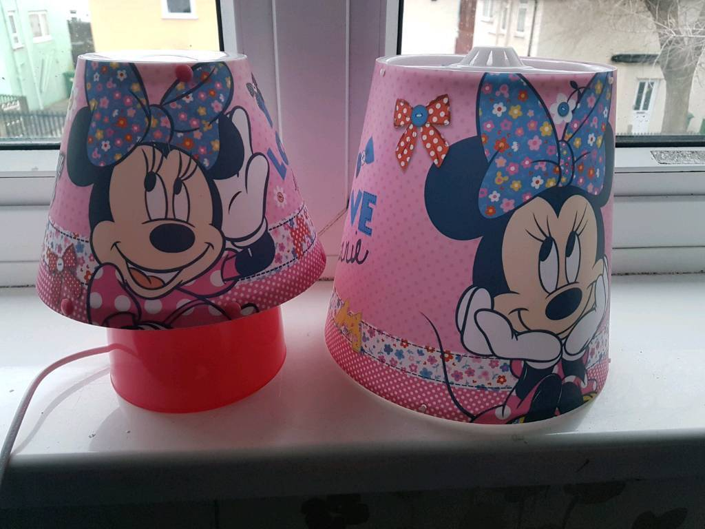 Mini mouse bedside light and LAMP shade