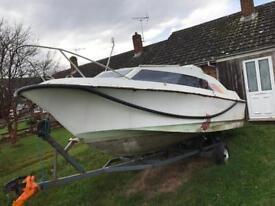 Shetland 570 project boat