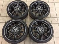 "BMW 19"" MV4 alloys"